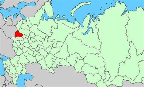 russia map smolensk smolensk oblast
