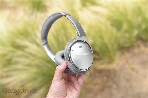 bose quietcomfort  noise cancelling headphones review gadgetmac