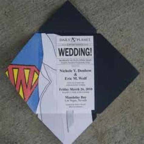 Superman Wedding Invitations