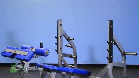 hammer strength decline bench hammer strength olympic decline bench w weight storage