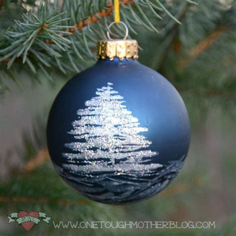 great idea turn plain baubles into designer one off