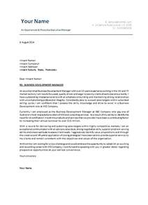cover letter business business administration cover letter sle free sles