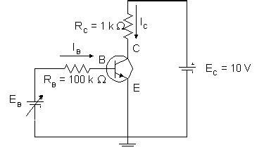 calcular resistor base de transistor el transistor bipolar