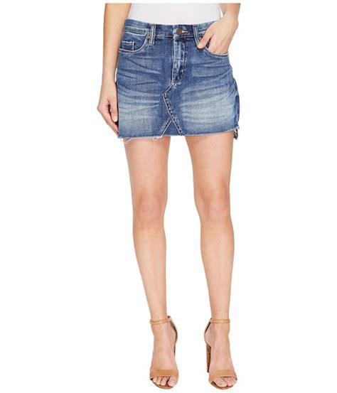 blank nyc denim mini skirt in inside joker at zappos