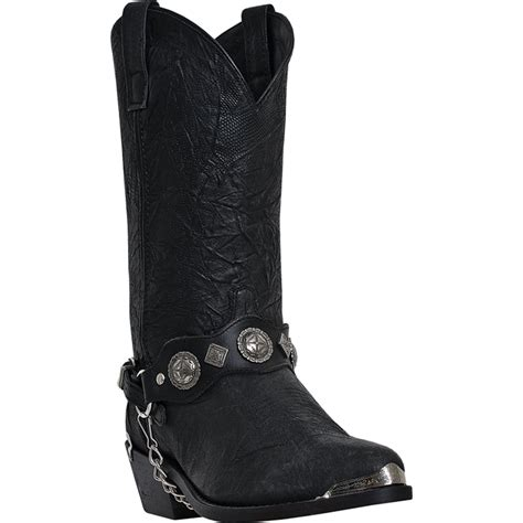 dingo cowboy boots for dingo mens black pigskin leather suiter 12 quot narrow toe