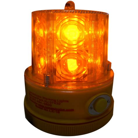 battery led flashing lights led warning beacon lx 18