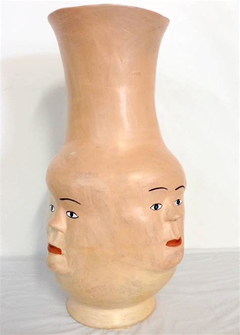 Vases With Faces by Quot The Vase With Faces Quot By Gomes At 1stdibs