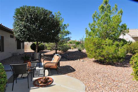 arizona backyard private backyard home sun city grand surprise az