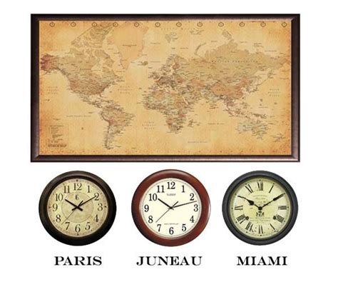 hot clock themes 69 best world travel home decor images on pinterest