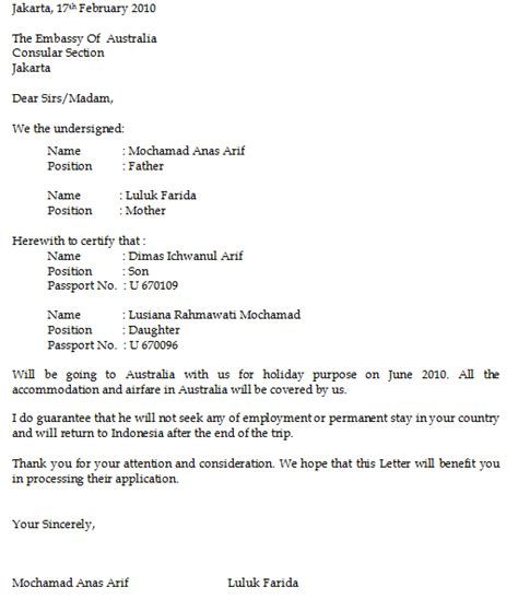 Sponsorship Letter Korean cara dan persyaratan membuat visa korea this is my
