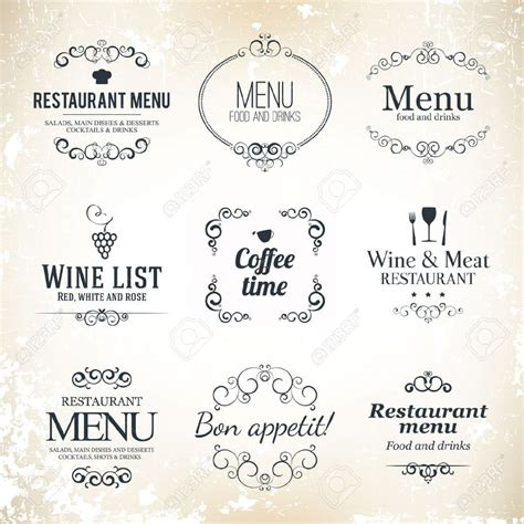 4 Customer Friendly Restaurant Menu Design Tips ? Designhill