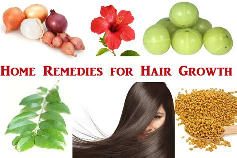 top 5 home remedies for hair growth anti aging secrets