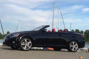 2012 Lexus Is 250c 2012 Lexus Is 250c Car Reviews Auto123