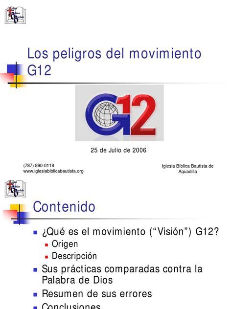los peligro del deleite los peligros del movimiento g12