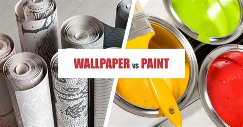 wallpaper vs paint wallpaper pros and cons home design