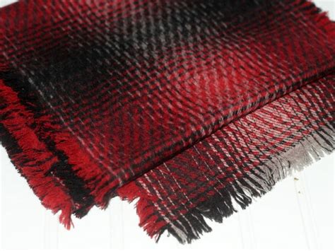 make this easy fringed no sew scarf for him or