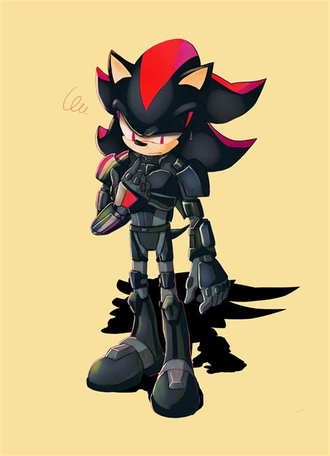 The Black Shadow lancelot shadow the hedgehog sonic and the black