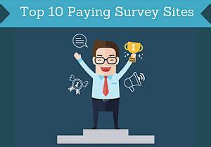 best paying survey top 10 paying survey for 2018 paidfromsurveys