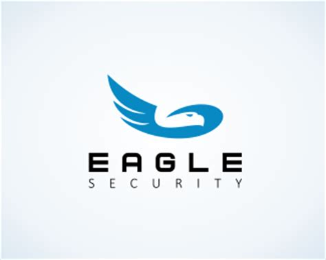 logopond logo brand identity inspiration eagle security