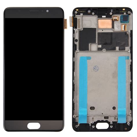 Meizu Pro 6 Lcd Display And Touch Screen With Frame replacement meizu pro 6 plus lcd screen touch screen digitizer assembly with frame black