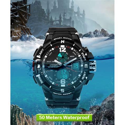 Sanda Jam Tangan Sporty Pria Sd 320 sanda jam tangan sporty pria sd 289 black blue jakartanotebook