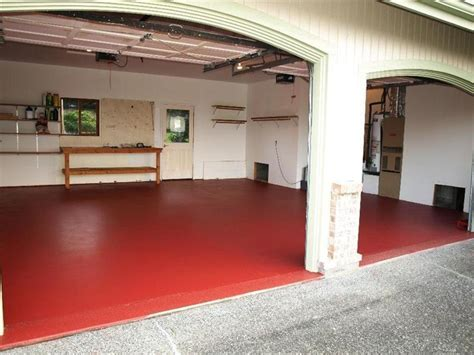 Garage Floor Paint Options