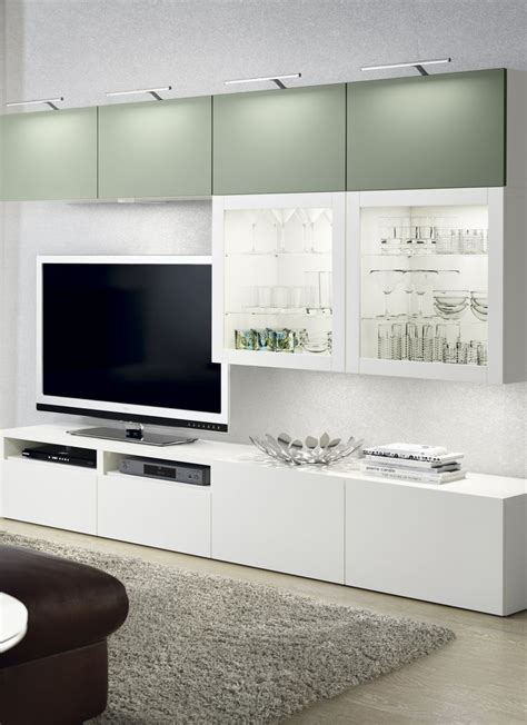 ikea besta wall unit ideas best 25 white tv cabinet ideas on pinterest built in tv