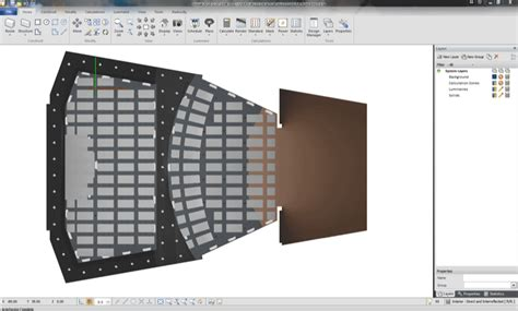 Visual Lighting Software by Visual Software De Iluminaci 243 N De Acuity Brands Iluminet