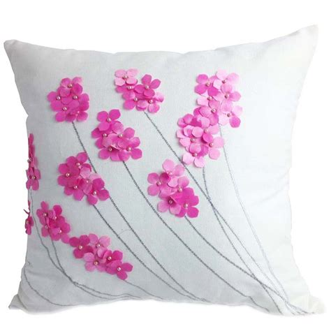 Pillow Cover by Aliexpress Buy Decorative Cotton Embroidery Cushion