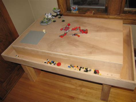 Lego Building Table by Lego Construction Table