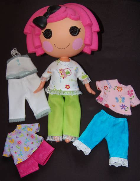 design a lalaloopsy doll pdf pattern lalaloopsy pattern summer wardrobe for 12
