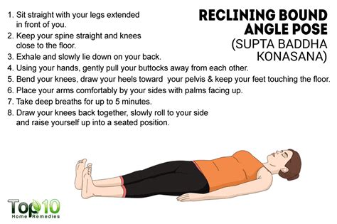 Reclined Bound Angle Pose by How To Relax Your Mind And With Page 2 Of 3
