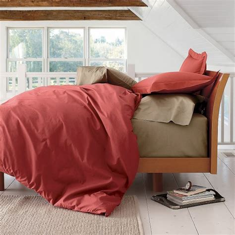 red comforter cover bold red duvet cover comforter cover and sham