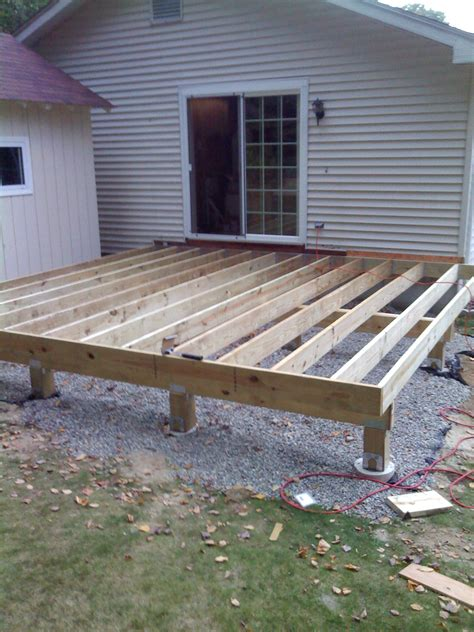 How To Build A Deck by Important Lesson Do What The Building Inspectors Says