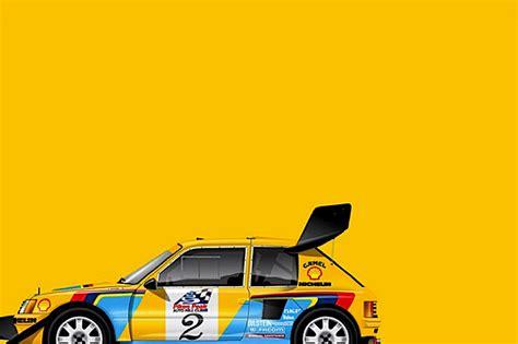 rally art gorgeous car art celebrates rally  racing