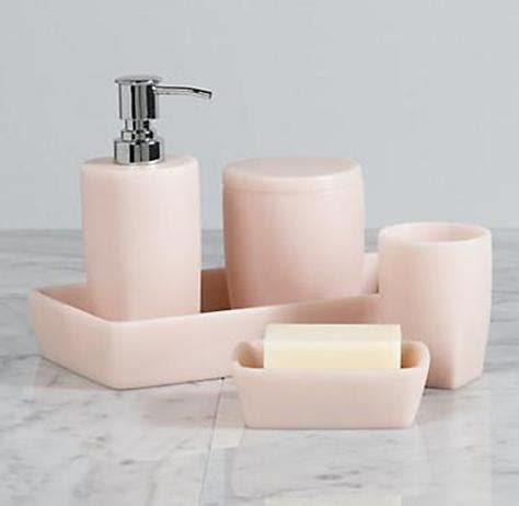 peach bathroom accessories bathroom color be brave be bold