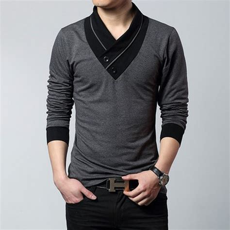 T County Contemporary Mens Clothing Line With A Rugged Edge by Mens Fashion Designer Cross Line Slim Fit Dress Shirts