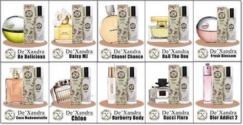 Minyak Wangi Dexandra de xandra inspired perfumes rm20 murah him as