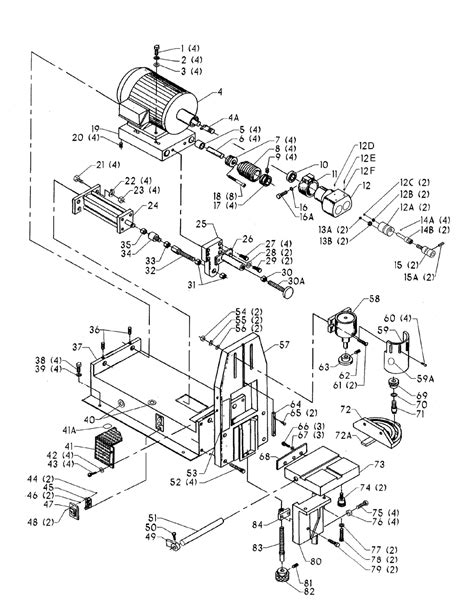 the gallery for gt horizontal boring machine diagram