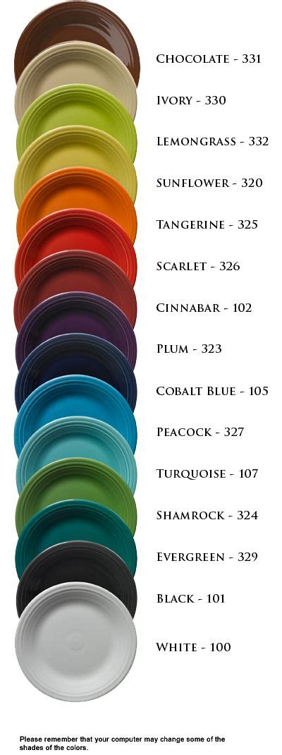 dinnerware colors 52 best images about 174 homer laughlin china color