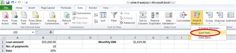 excel tutorial what if analysis best excel tutorial what if analysis
