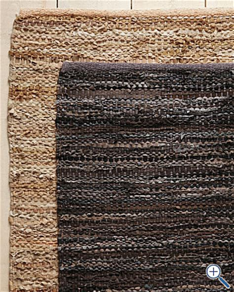 Leather Rug Eileen Fisher Recycled Leather Rug Traditional Rugs
