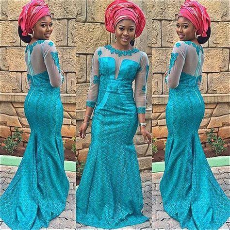 aso ebi styles lace 9 magnificent aso ebi in lace styles 2016