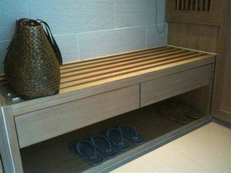 luggage bench practical luggage bench with beach bag provided picture of mandarava resort and spa