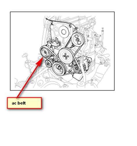 2006 kia spectra belt diagram kia ac belt location get free image about wiring diagram