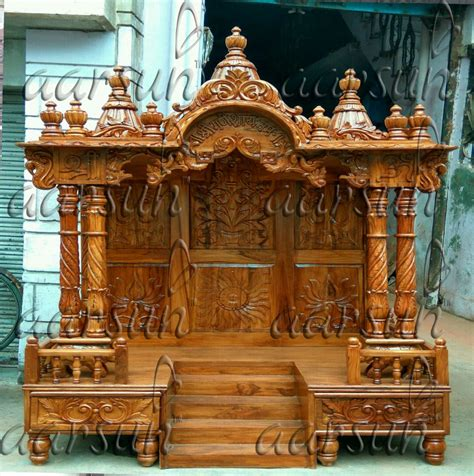 Big Wooden Temple Designs For Home Ftempo