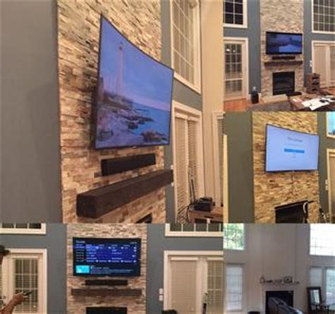 tv mounting ideas home theater wireless whole