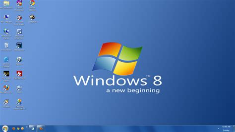 desktop icon themes for windows 7 experience