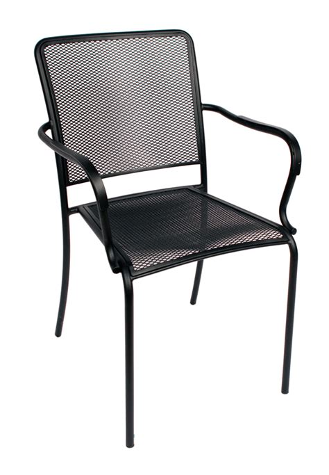 Furniture Shop Adams Mfg Corp Earth Brown Resin Stackable Patio Chair