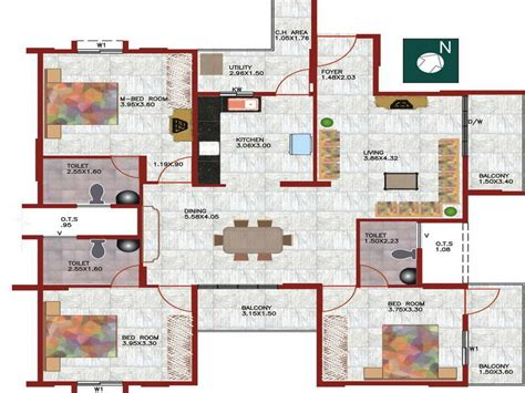 house layout maker the advantages we can get from having free floor plan